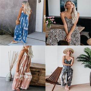 Designer Jumpsuits Women Nightwear Playsuit Workout Button Skinny Hot Print V-Neck Short Onesies Women Plus Size Rompers 123#778