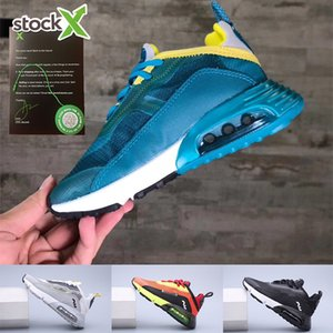 With Free Socks 2020 Newest Preschool 2090 XX3 Kids Running Shoes Small Boys Girls Walking Sneakers Children Athletic Trainers Casual 26-35