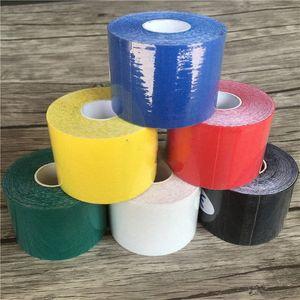 Kinesiologia Tape Athletic nastro Sport recupero Strapping Ginocchiera Relief ginocchiere supporto per Gym LTmo #