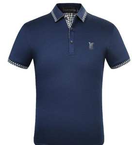 Summer Designer Polos Shirts for Men Fashion Brand Men's Polos Tees with Letters Snake Embroidery Luxury Louìs Vuìttõn Polo Tops S-2XL