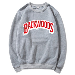 Backwoods Designer Hoodie Sudadera Individual Rock Camiseta Hombre Suéter Letra Imprimir Moda Casual Pullover Sudadera Manga Larga Hombres S-3XL