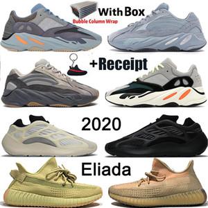 2019 350 Nouveau Designer GID Clay Antlia Lundmark True Form Hyperspace Kanye West Chaussures de course statique Reflective Hommes Femmes Sport Chaussures de sport Entraîneur