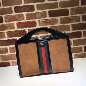 2020 Top Quality Brand design Letter Ribbon Metal Buckle Shoulder Chain Bag Deerskin Leather Woman 512957 Handbag