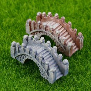 Pont Nouveauté Pierre Figurines Résine Artisanat Mini Fée Jardin Miniatures Bricolage Terrarium Succulentes Micro Paysage Décoration