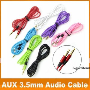 3.5mm AUX Audio Cables Male To Male Stereo Car Extension Audio Cable For MP3 For phone DHL Free Shipping OM-CE4