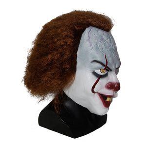 TOY Pennywise Clown Masque Fantaisie de Stephen King Costume d'Halloween nouveau film masque terrifiant