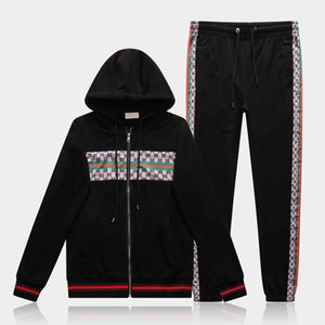 HOT New Designer Tracksuit Men Luxury Sweat Suits Autumn Brand Mens Jogger Suits Jacket + Pants Sets Sporting Suit Sets High Quality