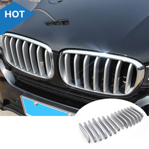 For BMW X5 F15 ABS Matte Front Center Grill Grille Cover Trim 2014-2018 14pcs