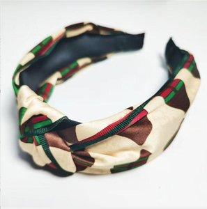 Vintage Headband Flower Knotted Hair Band for Women Fashion INS Korean Girls Hair Accessories Fairy Simple Striped Hair