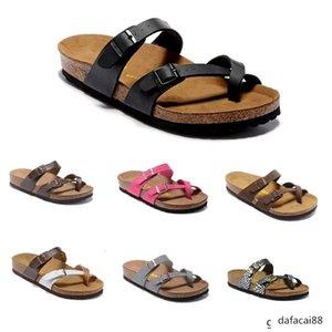 Mermaid Mayari Arizona Gizeh 2020 summer Men Women flats sandals Cork slippers unisex casual shoes print mixed colors Fashion Flats 34-46