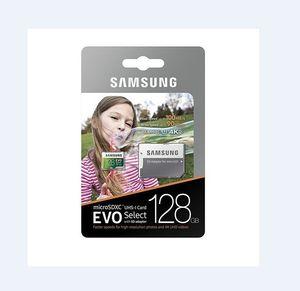 16GB / 32GB / 64GB / 128GB / 256GB سامسونج EVO اختر بالإضافة إلى بطاقة مايكرو التنمية المستدامة CLASS10 / كاميرا TF بطاقة U3 / الهاتف الذكي بطاقة التخزين 100MB / S