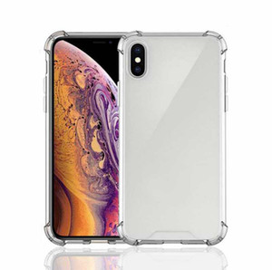 Shockproof Transparent Soft TPU Case For iPhone 11 Pro Max XR Xs Max Drop resistant Crystal Shell for iPhone 6 7 8 Plus Skin