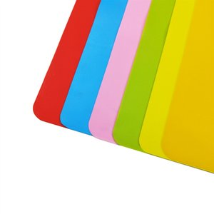 D2 8qf Muiti 기능 실리콘 테이블 매트 키즈 플레이스 매트 안티 슬립 장식 패드 40x30cm 베이킹 주요 열 보호 3