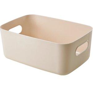 Snack cesta de Estudiantes de escritorio caja de almacenamiento de plástico cosméticos Caja de almacenamiento Inicio acabado cuadro de cocina