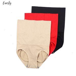 Good Quality High Waist Control Panties Seamless Shaping Abdomen Womens Underwear Women Postpartum Repair Body Shaper Womens Underwear