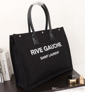 Mulher bolsa de moda fashion senhoras clássico compras rive gauche saco pinke 08