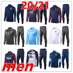 2019 2020 новый Реал Мадрид Алжир ajax мужская футбол спортивный костюм 19 20 Мужские спортивные костюмы Survêtement де футбол тренировочный костюм chandal futbol