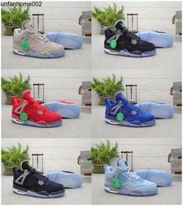 2020 New Jumpman 4 IV Silt Red Georgetown Hoyas Florida Gators UNC Michigan Basketball Chaussures à Qa NakeskinJordanretros Chaussures