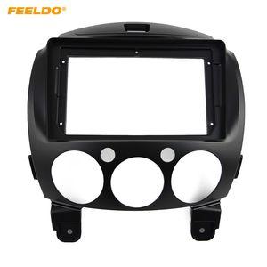 "FEELDO Car Audio Radio 2DIN Fascia Frame Adapter For Mazda 2 9"" Big Screen CD DVD Player Dash Fitting Panel Frame Kit #5304"