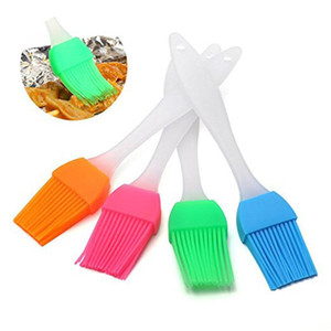 Silicone Pastry Brush Baking BBQ Grill Cake Bread butter Oil Cream Heatproof Brushes Cooking Basting Tools Kitchen Accessories