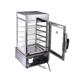 500 ticari elektrikli buharlama dolap sertleştirilmiş cam ticari topuz vapur ekmek vapur buğulanmış çörekler fırını çevrili