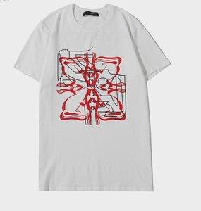 Livraison gratuite Luxurymen Designertshirts été TShirt grue d'impression Designertshirt Hip Hop Mode Hommes Femmes manches courtes T-shirts 2030205Q