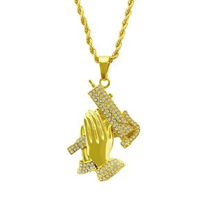 Gold Color Fashion Basketball Sports pendant Hip hop Necklace and Key chian Jewelry Bling Bling Iced Out
