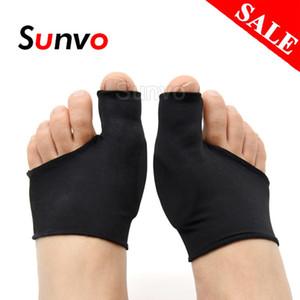Schuhe Sunvo Silikon-Gel-Hallux Valgus Pflege-Pads für Bunion Orthopädische Socken Toe Separator Korrektur Fuß Schmerzen lindern Sleeve Einsätze