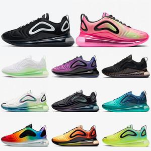 Nike air max 720 nike air 720 nike 720 femmes des chaussures de course Oreo Rose Bubble pack Violet Soyez entraîneurs sportifs de la mer vraie forêt chaussures de sport