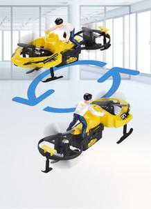 2.4G Vier-Achsen-Fernbedienung Schneemobil Auto für Kind elektrisches Spielzeug Kindgeschenk 06