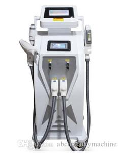 New Bouble tela 4 em 1 IPL elight depilação a laser IPL OPT tatuagem / acne / pigmento / rugas / pele remoção vascular máquina de rejuvenescimento