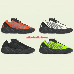2020 Kanye West 700 MNVN laranja Running Shoes 700 MNVN óssea Phosphor Triplo Preto 3M reflexiva Homens Mulheres Sapatilhas frete grátis Size36-46