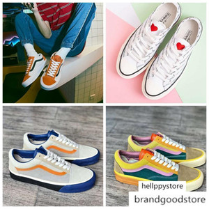 2020 nouvelle originale Va Old Skool OG style os par Vault Multicolor hommes chaussures de sport de chaussures des années 70 de mode casual