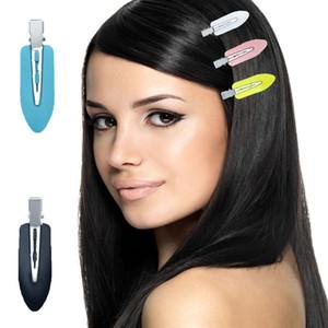 Clipes mulheres da gota da água Forma Barretes Seamless Sem Bend Nenhuma Crease Mark cabelo das mulheres maquiagem Hair Styling Bangs Clipe M2387