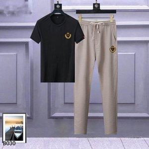 2020 popular men sportswear men luxury designer T-shirt sweatpants trousers short T-shirt suit