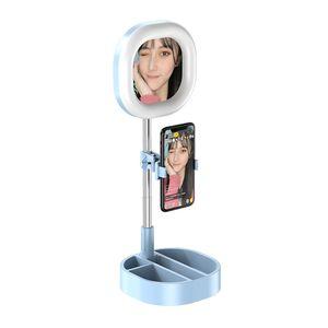 Сотовый телефон У3 LED Ring Light 5W-15W 3500-6000K 3 цветов сеого кольца лампа фотографического живой красота освещение с Штативом Clamp Standard