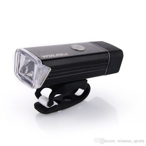 LED Bike Lights WITH FREE ARAM SLEEVE USB Rechargeable Front Handlebar Cycling Lights Bicycle Accessories Fietslicht with 4 Lighting Modes