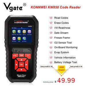 OBD2 KONNWEI KW850 코드 리더 검사 엔진 OBD / EOBD 스캐너 자동차 무료 업데이트 자동차 진단 자동 도구 PK CR5001 CR3008