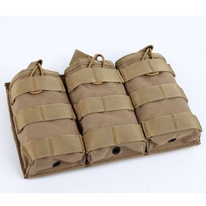 Triple multi-function tactical vest MOLLE accessory bagfans training load Accessory gloves coat gloves glove bag outdoor kit