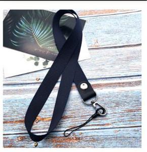 Мобильный телефон ремни металлический зажим висит шеи Rope LANYARD Para Llaves для iPhone камеры USB держатель ID Pass Card Name Badge Holder