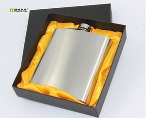 1PC Longming casa 18 once Hip hip Drink Liquore Whiskey Alcohol Flask Travel Outdoor Sports Russa grande tasca Flask JZ1113 JTHP #