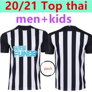 Jersey Newcastle United Soccer Adulte 20 21 Home away troisième PEREZ 17 RITCHIE 11 RONDON 9 Shelvey 8 2020 2021 ENFANTS Maillot de football