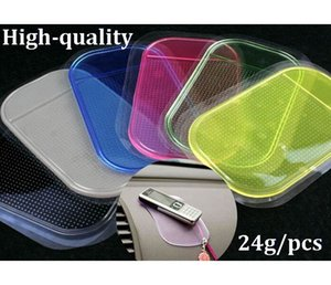 1000pcs lot* 24g High-quality Powerful Silica Gel Magic Sticky Pad Anti-Slip Non Slip Mat Anti-skid car pad for Car dvr GPS