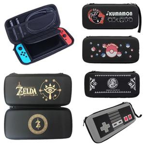 Para Nintendo Mudar NS EVA rígido Shell Viagem siga casos Protective Covers sacos de armazenamento Organizer Bolsa para Console Switch Handle