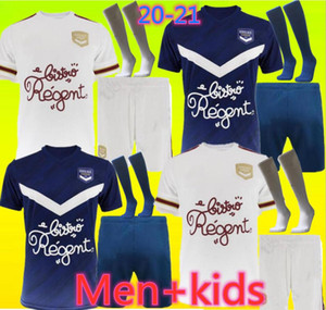 20 21 Girondins de Bordeaux soccer jerseys 2020 2021 maillot de foot BRIAND S.KALU KAMANO BENITO DE Oudin Adults and kids BASIC football shi