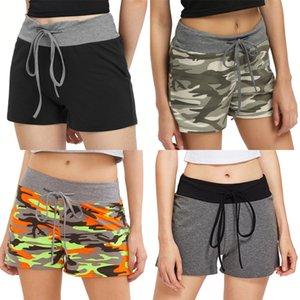 Womens Fitness Half High Waist Quick Dry Skinny Bike Shorts 2020 New Tight Short Black Red Gray Slim Korean Sport Shorts Hirigin#5401