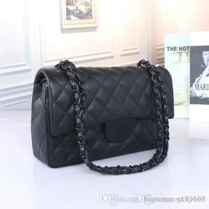 Chanel diseñador del totalizador del bolso de Crossbody del bolso de la manera bolsos de las mujeres del bolso del bolso de cuero de la cubierta del tirón bolsos de hombro diagonal