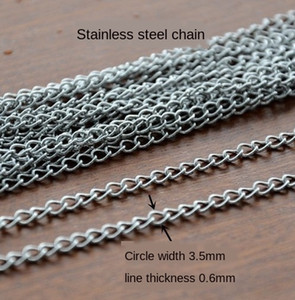 Stainless steel O-chain Stainless steel Accessories necklace O-chain necklace accessories