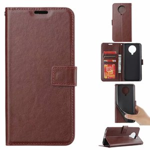 For Xiaomi K30 PRO NOTE 10 LITE Redmi NOTE 9 PRO 8T 8 8A Crazy Horse Wallet Leather Phone Case Flip Oil Photo Stand Cover Fashion
