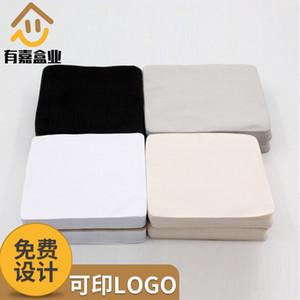 Noir Blanc riz gris quatre couleurs de haute qualité algues soie lunettes lunettes suède lentille chiffon d'essuyage en tissu